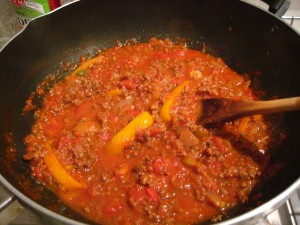 How to make taco sauce - finished!