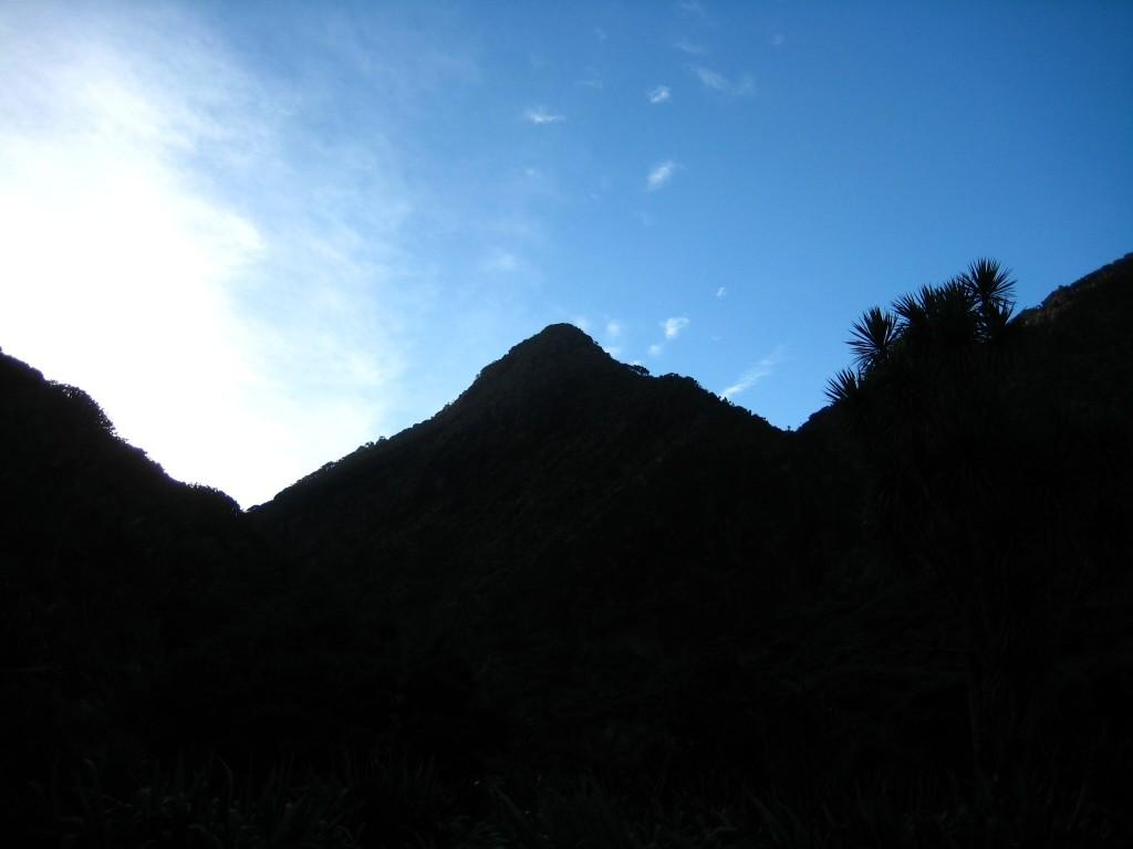 Pararaha Valley as sun rises